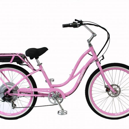 pink electric bike
