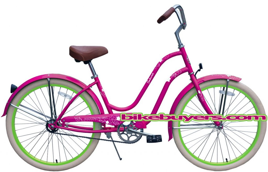 girly retro bike for women
