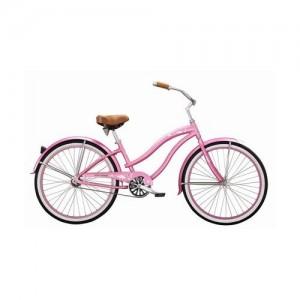 Pink Beach Cruiser Bike