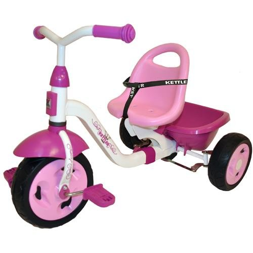 Cute Pink Tricycle for Toddler Girls