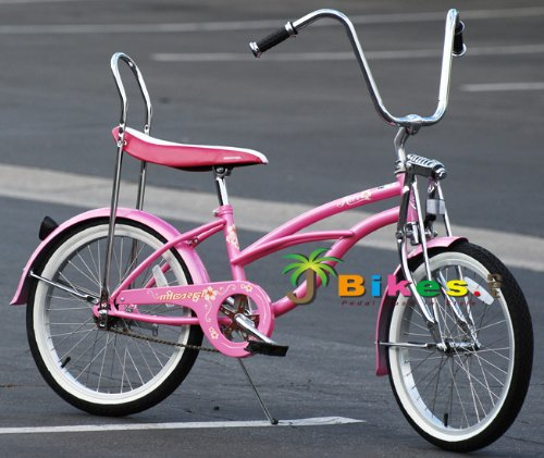 Pink Retro Bicycles