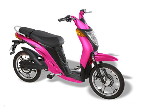 Jetson Lithium Ion Powered Eco-Friendly HOT PINK Electric Bike