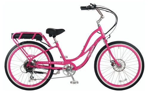 pink electric bicycles